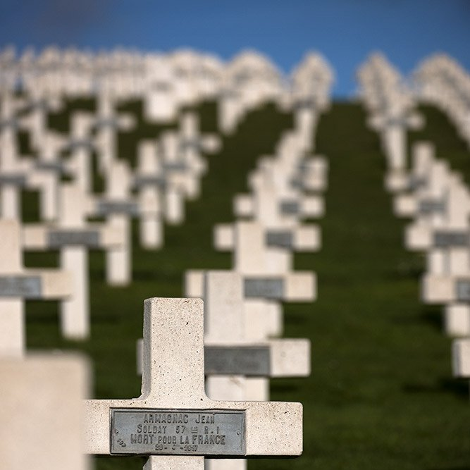 French cemetery of Craonnelle © Rémy SALAÜN - All rights reserved