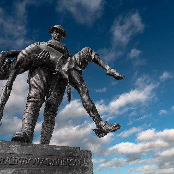 The Rainbow Division Memorial © Rémy SALAÜN - All rights reserved