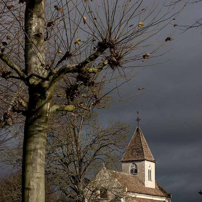 Belleau church © Rémy SALAÜN - All rights reserved