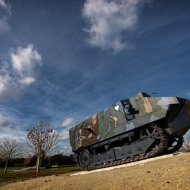 French Tank monument © Rémy SALAÜN - All rights reserved