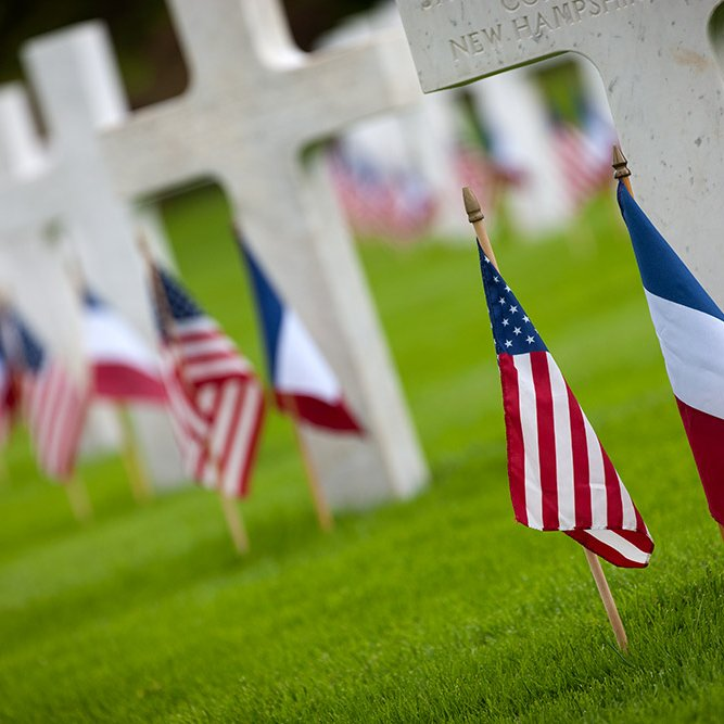 American military cemetery of Belleau - 2016 © Rémy SALAÜN - All rights reserved