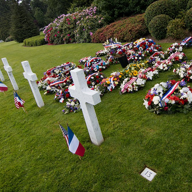 American military cemetery of Belleau - 2017 © Rémy SALAÜN - All rights reserved